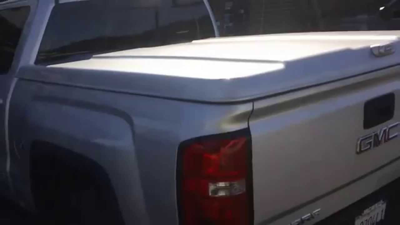 A R E Ls2 Tonneau Cover On New 2014 Gmc 1500 Crew Cab W