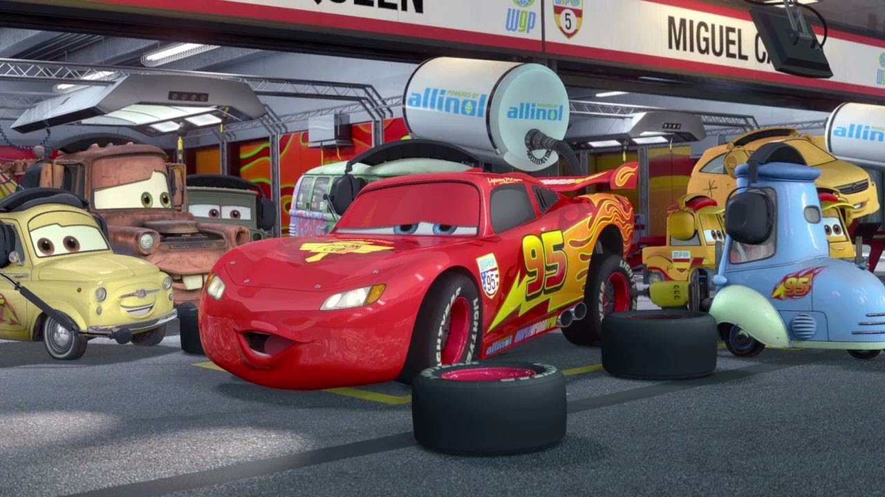 YouTube Premium & Cars 2 HD Race - Lightning McQueen - Jeff Gorvette - Mater / Hook ...