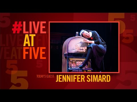 Broadway.com #LiveatFive with DISASTER's Jennifer Simard