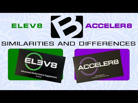 BEpic's Elev8 and Acceler8: Differences & Similarities