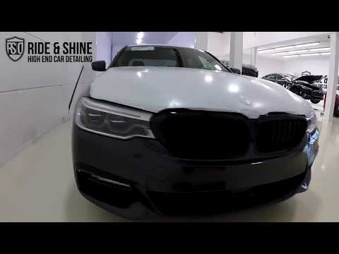 High End Car Detailing BMW 5 series New Car Treatment with M