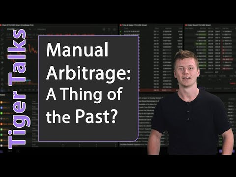 Is Manual Arbitrage In Crypto Still A Thing? (Not Really)
