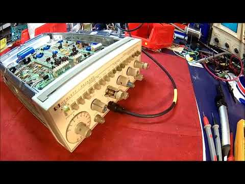HP 3312A Function Generator - tear down, inspection and repair