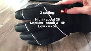 Savior Heated Gloves (I used them -25C (-13F)