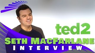 Seth MacFarlane Interview - Ted 2