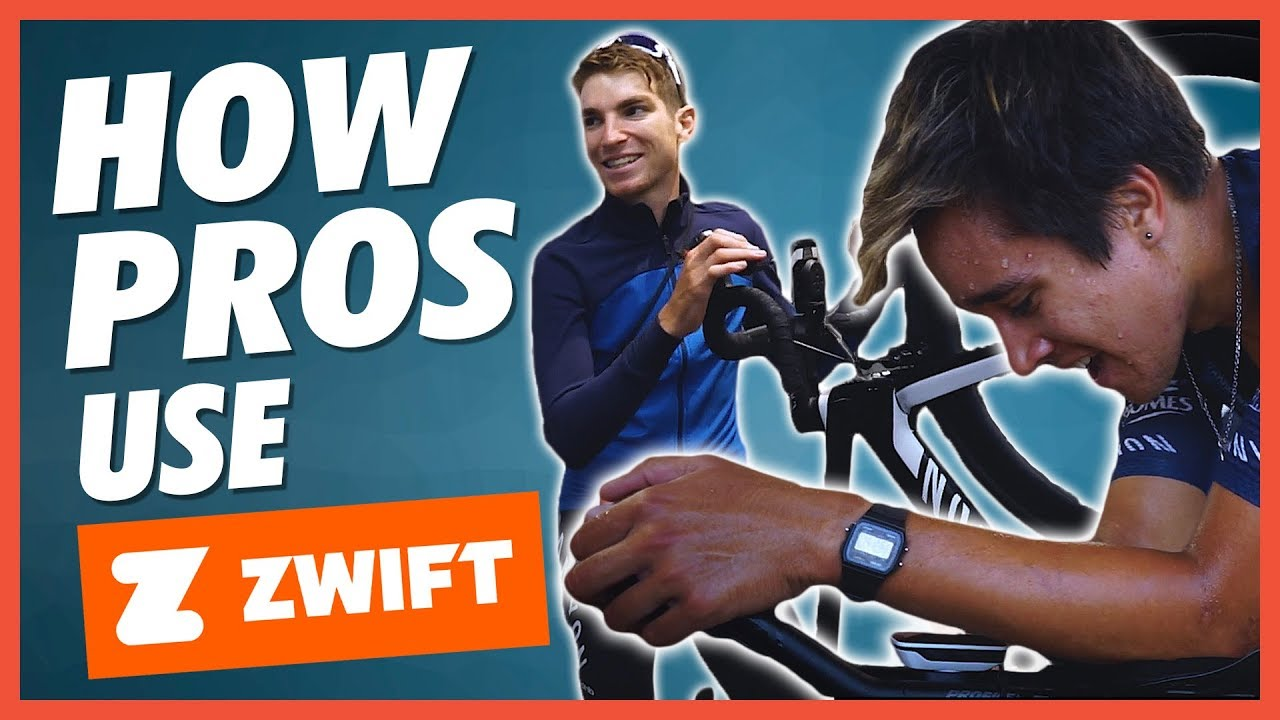 How The Pros Use Zwift To Prepare For The Big Races