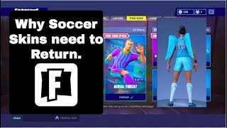 Soccer Skins Finally Coming Back Confirmed? | Fortnite Battle Royale | Investigation