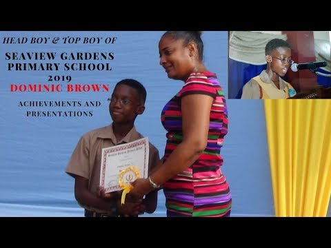 11 Years Old Dominic Brown Speech and Achievements 2019