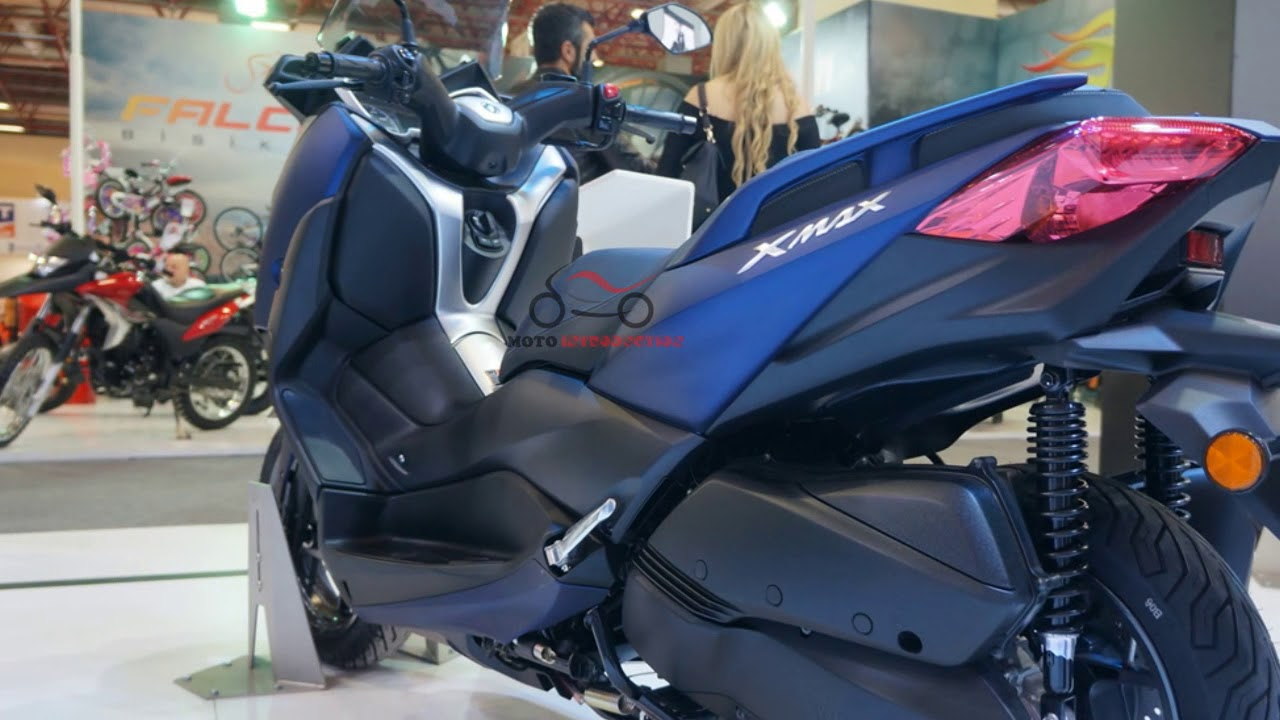 Details Yamaha Xmax 2018 All New Yamaha Xmax At Motobike Istanbul