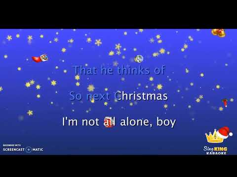 Me singing Santa Tell me Ariana Grande :)