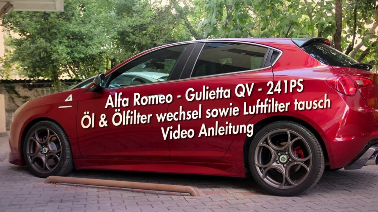 anleitung - Ölwechsel und filter - alfa romeo giulietta qv - youtube