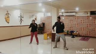 Aankh_marey/simba/movie_official/song dance choreography by (popping shibu) and Anchal Jain