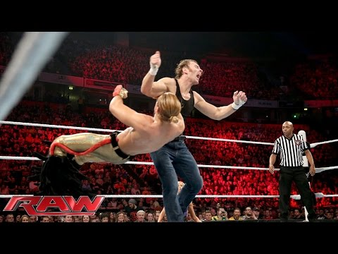 Dean Ambrose Vs. Tyler Breeze – WWE World Heavyweight Championtitel Turnier: Raw – 9. November 2015
