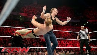 Dean Ambrose vs. Tyler Breeze – WWE World Heavyweight Championtitel Turnier: Raw – 9. November 2015