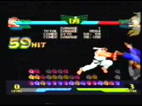 Marvel Super Heroes Vs Street Fighter Combos