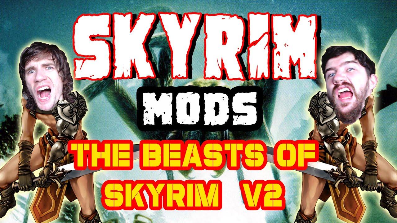 The Monday Mod Show - The Beasts of Skyrim (Boss Encounters) V2 - Steam  Workshop Skyrim Mods by Ravencast Gaming Main