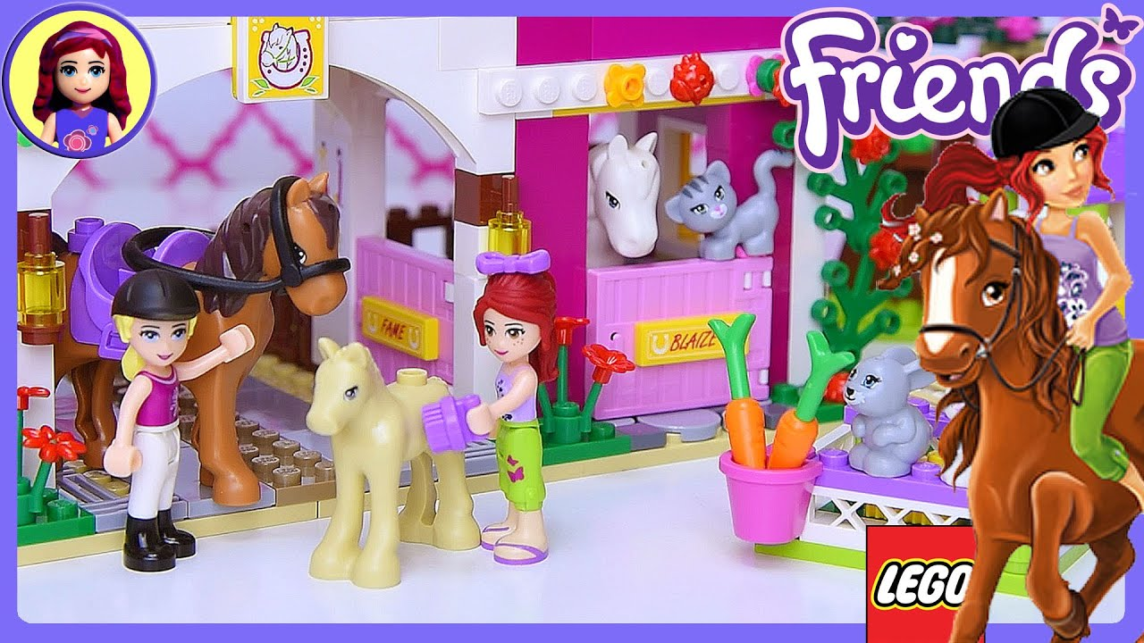Sunshine Ranch Lego Friends Part 2 Review Build Silly Play