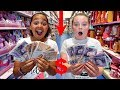 TIANA SPENDS £50 IN 5 MINUTES!! SLIME TOY HUNT CHALLENGE!