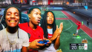 My little brothers picked the Best Jumpshot EVER for me on NBA 2K19! Best Jumpshot 2k19! Best Build!