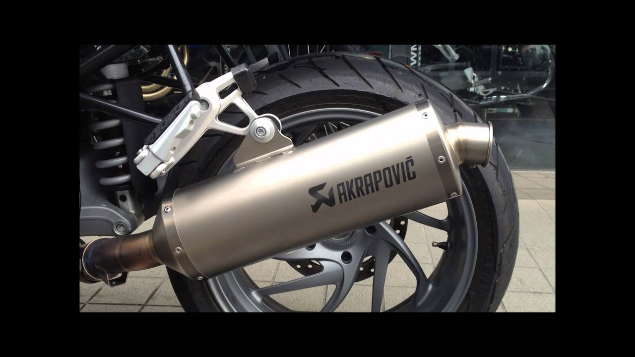 bmw motorrad r1200r akrapovic sound youtube. Black Bedroom Furniture Sets. Home Design Ideas