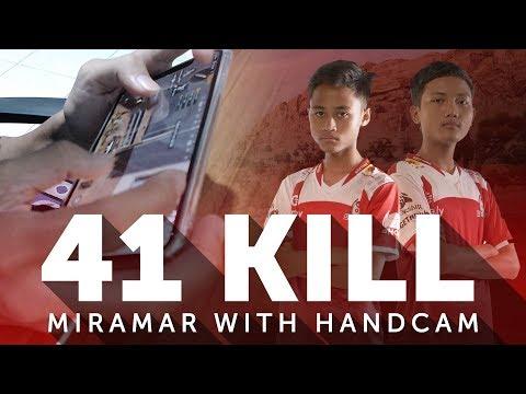 ZUXXY 41 KILLS SQUAD WITH HANDCAM