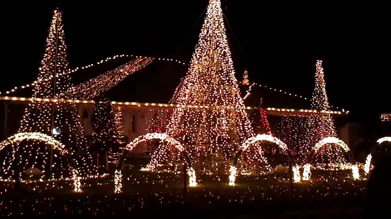 pensacola homes christmas light show