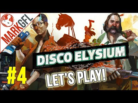 Let's Play Disco Elysium - Chaotic Detective RPG - Part 4