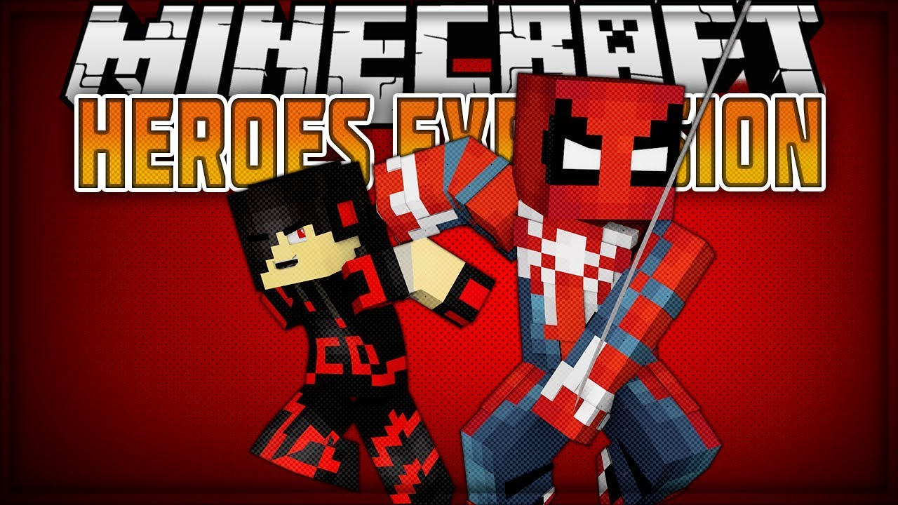 Minecraft: Mod Showcase [UPDATE 4] - Heroes Expansion (SPIDER-MAN RISES  FROM THE ASHES)