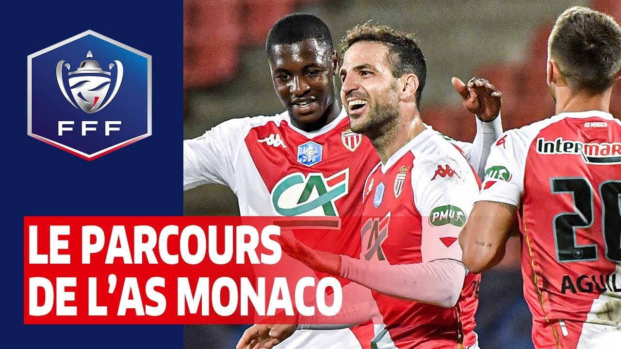 Le parcours de l'AS Monaco en Coupe de France 2020-2021
