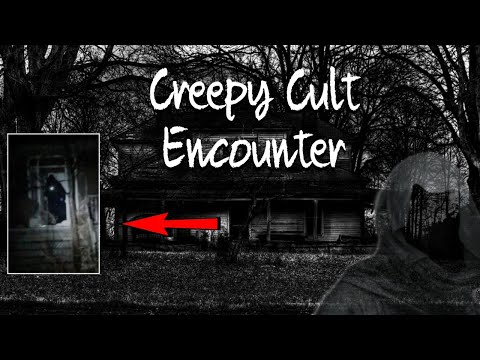 Black Hooded CULT ENCOUNTER at the MURDER HOUSE || I WAS CHASED OUT