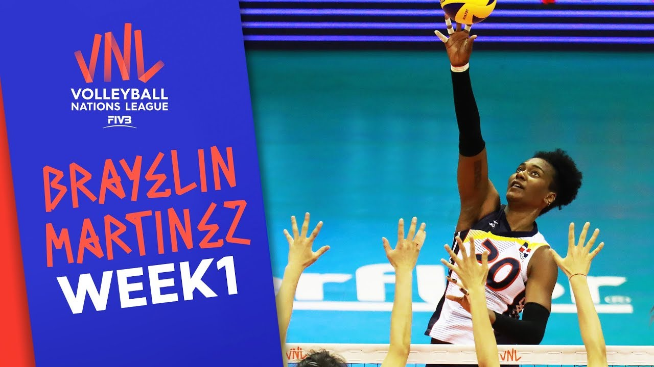 Brayelin Martinez best Plays | #VNLWomen Week 1! | Volleyball Nations League 2019