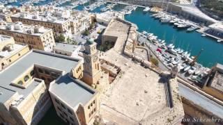 Three Cities Malta 4k DJI Phantom 4