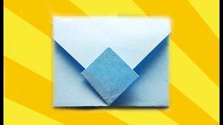 КОНВЕРТИК. Оригами Своими Руками из Бумаги для Начинающих. Видео(В этом видео я научу Вас делать своими руками оригами для детей - КОНВЕРТИК. Эта поделка из бумаги легкая..., 2014-12-19T18:16:23.000Z)