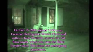 Crescent Hotel Ghost EVP Dusty Rainbolt