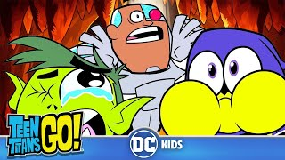 Teen Titans Go! | Top 10 Fails |  DC Kids
