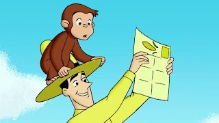 Curious George 🐵The Amazing Race 🐵Full Episode🐵 Cartoons For Kids 🐵 Kids Movies
