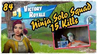 Ninja Shade Skin Fortnite Solo Squad Game Play