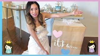 Princess Pham Reveal Baby Girl or Baby Boy ? Family Fun Easter Egg Hunt!