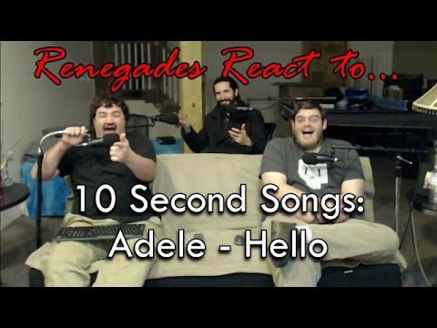 Renegades React to... 10 Second Songs: Adele - Hello