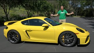 The 2020 Porsche Cayman GT4 Is My Favorite New Porsche