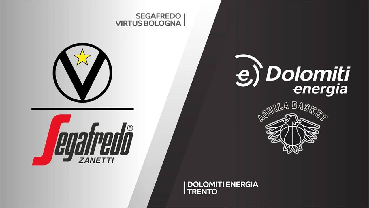 Segafredo Virtus Bologna Dolomiti Energia Trento Highlights 7days Eurocup T16 Round 4 Youtube