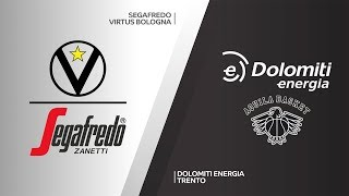 Segafredo virtus bologna dominated dolomiti energia trento to claim a big 94-70 victory in group e's italian derby. about euroleague basketball ba...