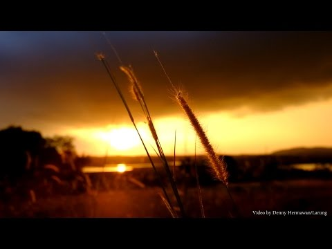 WARM SUNSET OF CLOUDY SKY - RELAXING - MY FUJIFILM XA2 VIDEO