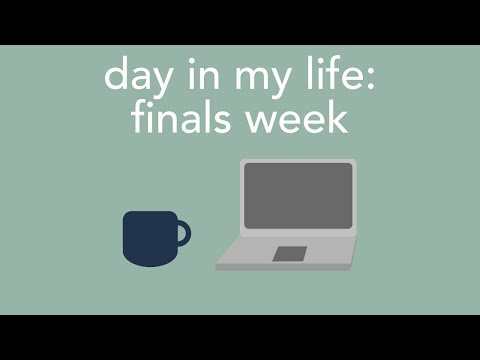 Download Youtube: day in my life: college finals week
