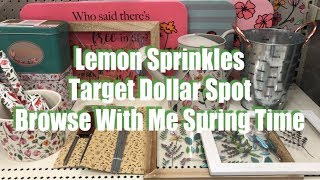 Browse With Me TARGET Dollar Spot Bullseye Playground SPRING Edition DPCI Included