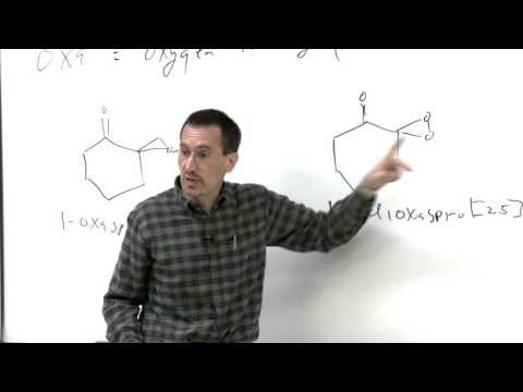 Chem 125. Advanced Organic Chemistry. 2. Spirocyclic, Polycyclic, & Heterocyclic Compounds.