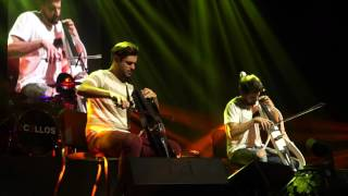 2CELLOS With Or Without You Minneapolis (live 2016 US Tour)