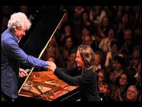 Hélène Grimaud live in Prague 2014: Brahms - Concerto No. 1 - 3rd mvt.