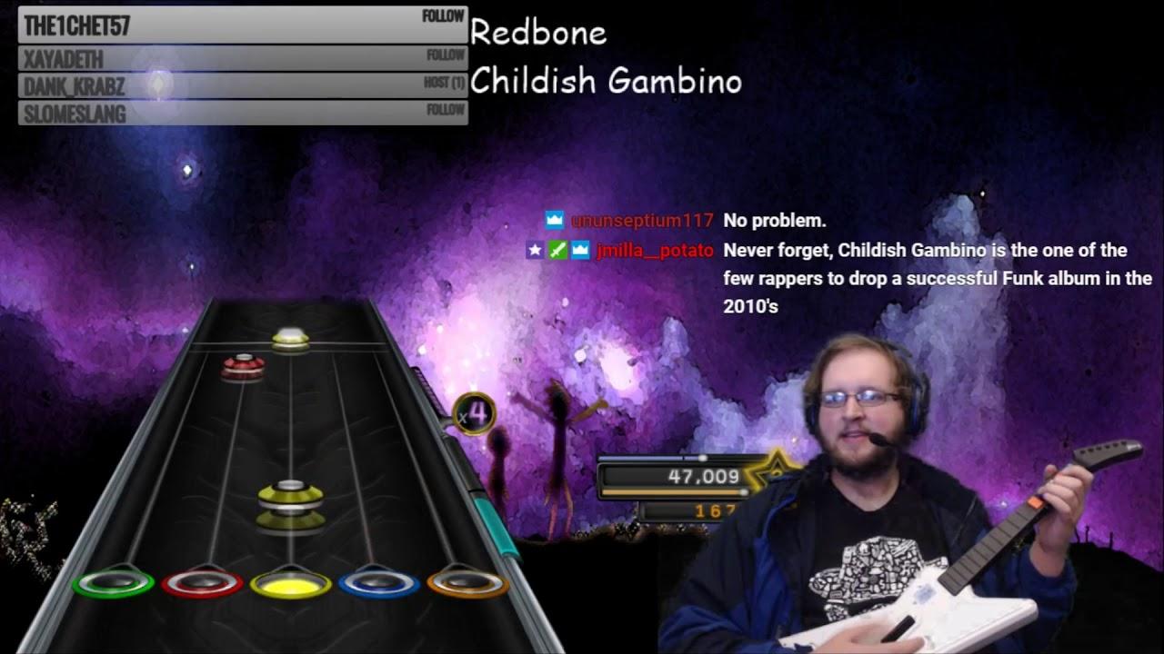 Childish Gambino ~ Redbone ~ 100% FC (Clone Hero)