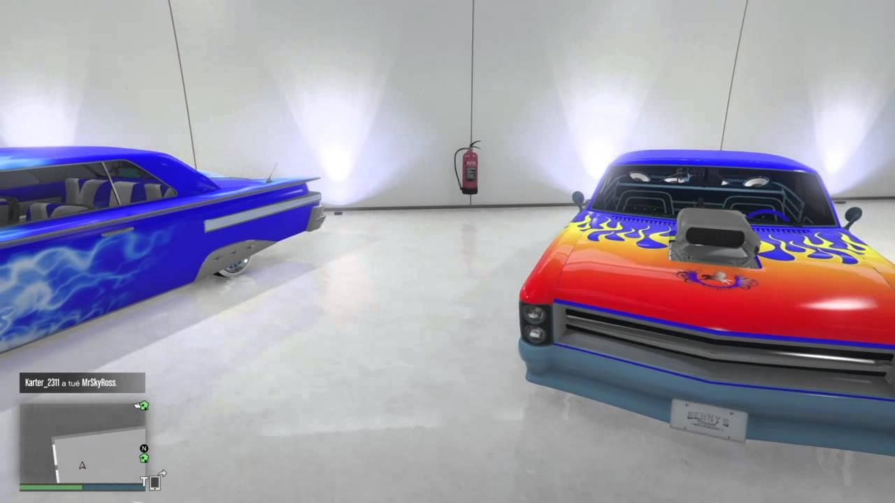 Grand theft auto v mon garage youtube for Garage n4 auto duppigheim